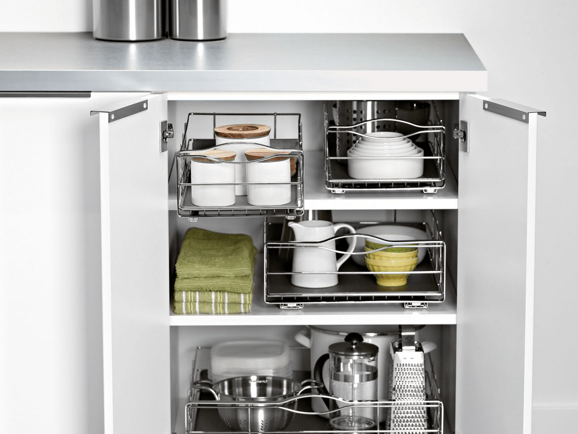 simplehuman pull out cabinet organizers