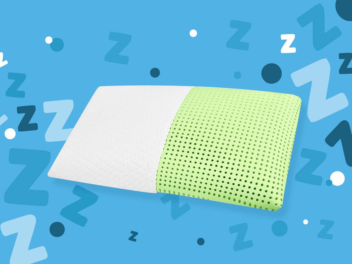 blu sleep memory foam pillow review
