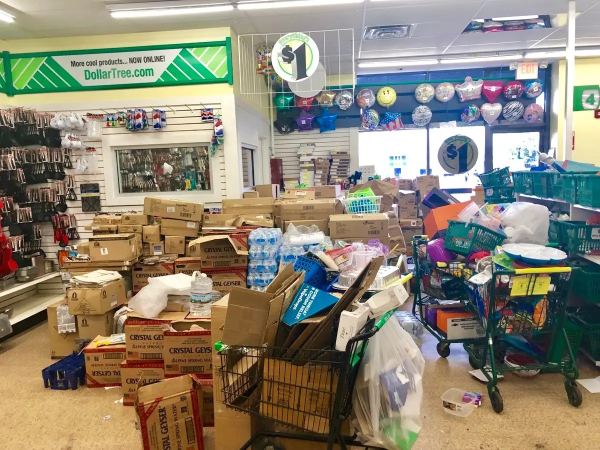 dollar tree in the city versus the