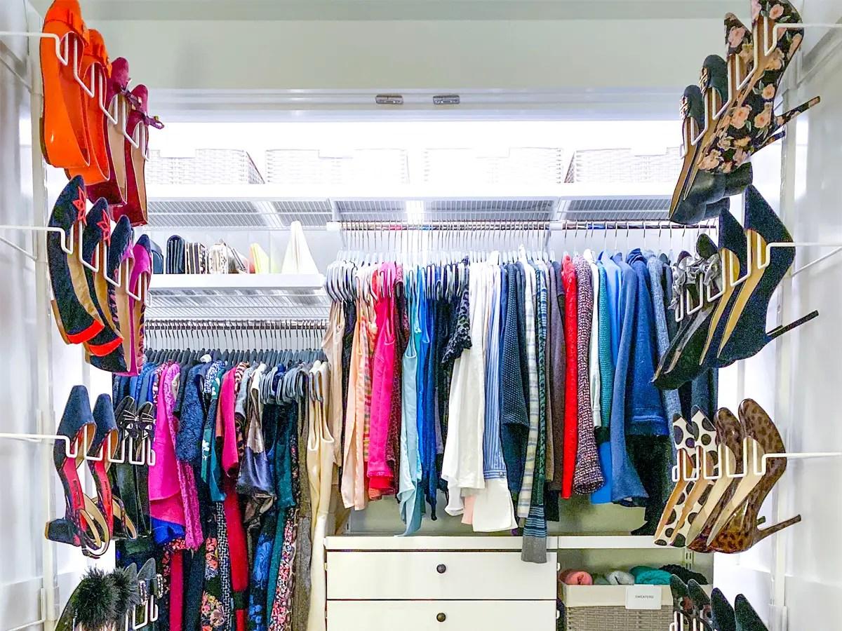 How To Organize A Bedroom Closet Business Insider