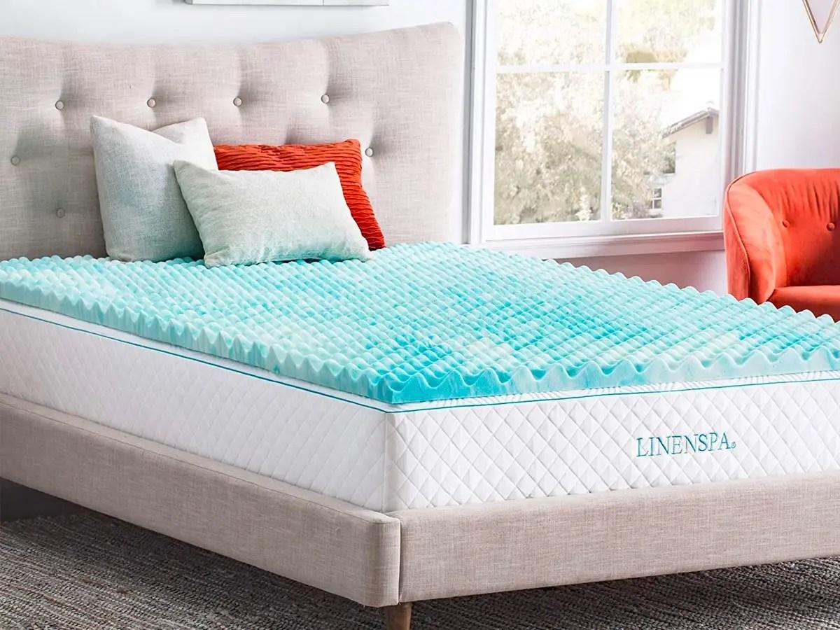 best cooling mattress topper for hot
