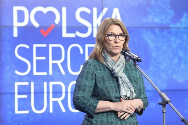 Beata Mazurek /Tomasz Jastrzębowski /Reporter