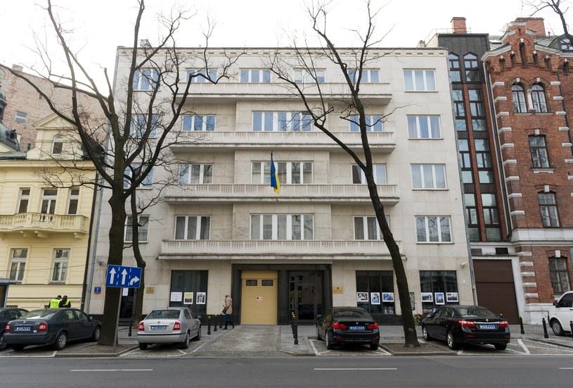 Budynek Ambasady Ukrainy w Warszawie, zdjęcie ilustracyjne /Bartosz Krupa /East News