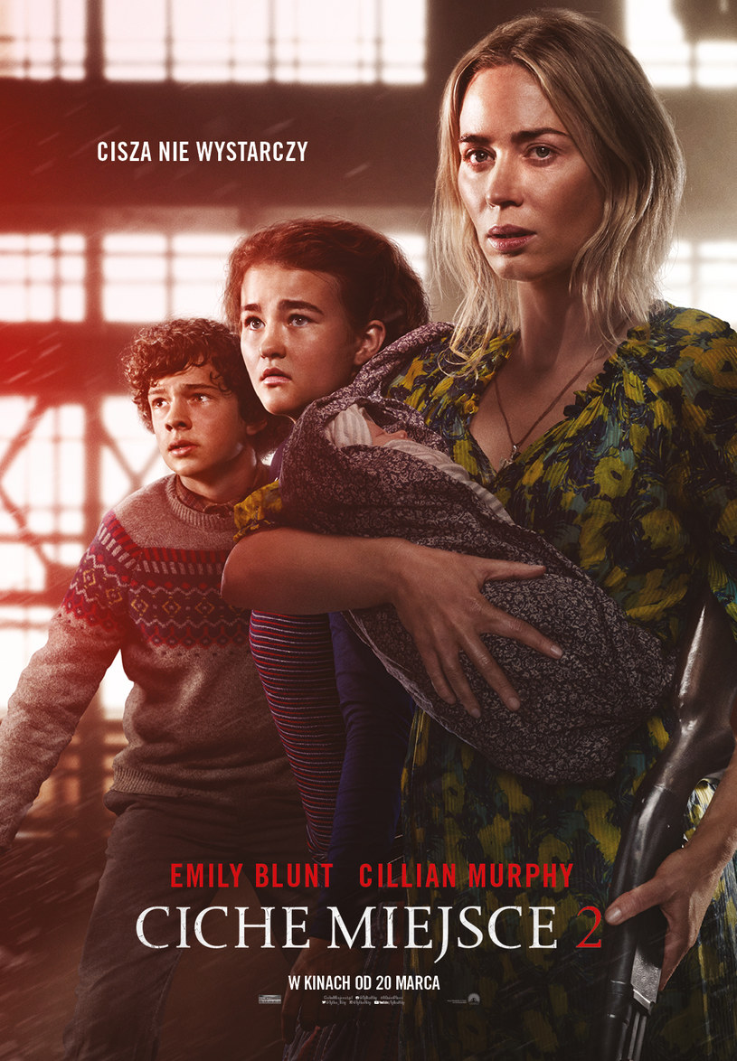 """""""A quiet place 2"""" will hit the screens of Polish cinemas on March 20 / UIP / distributor's materials"""