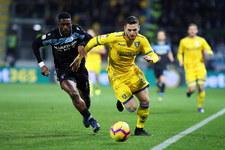 Frosinone - Lazio 0-1 w 22. kolejce Serie A. Grał Bartosz Salamon