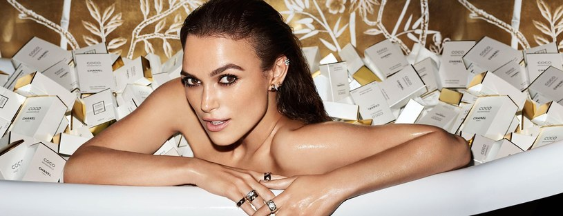 Keira Knightley - photo from the Chanel Coco Mademoiselle / Balawa Pics / East News perfume campaign