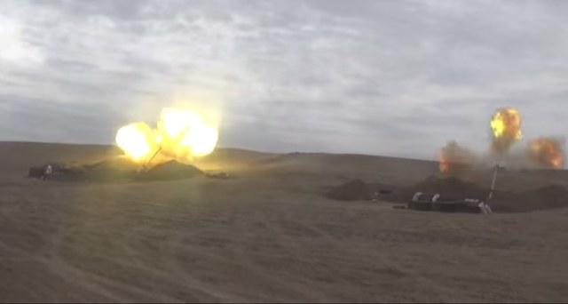 Konflikt w Górskim Karabachu /AZERBAIJAN DEFENCE MINISTRY HANDOUT /PAP/EPA