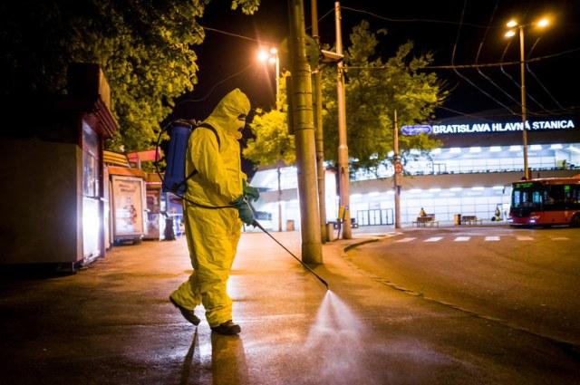 Koronawirus w Słowacji /AFP