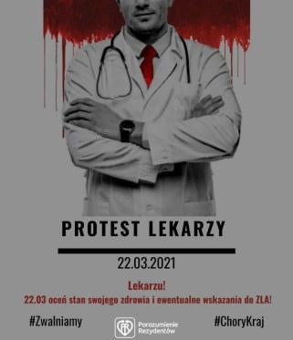 Lekarze rezydenci rozpoczynają swój protest. Nie przyjdą do pracy. /facebook.com