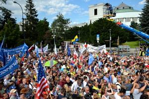 Lider KOD do Kaczyńskiego: Nie jesteś Janukowyczem, nie masz dokąd uciec