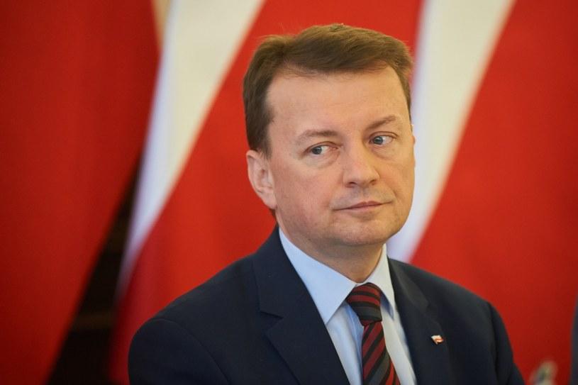 Mariusz Błaszczak /Lukasz Szelag /Reporter