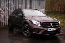 Mercedes GLA 220 4MATIC - wzór crossovera