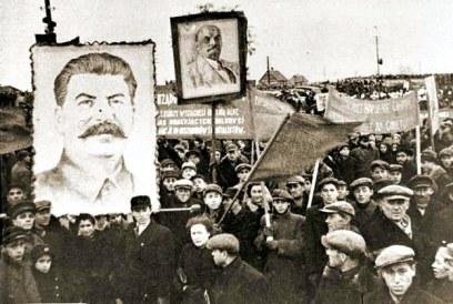 Prokomunistyczny wiec /materiały prasowe