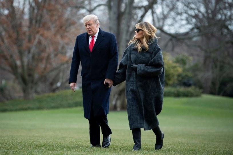Rodzina Trumpów przeprowadza się na Florydę /Brendan Smialowski /AFP