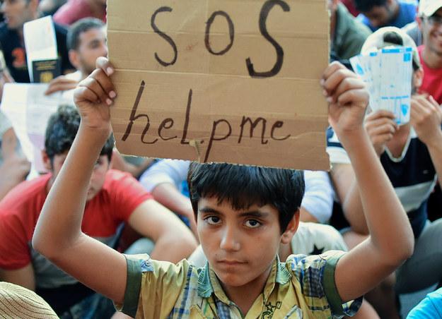 Rosja podsyca konflikty migracyjne? /AFP