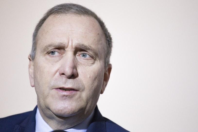 Szef PO Grzegorz Schetyna /Maciej Luczniewski/REPORTER /East News
