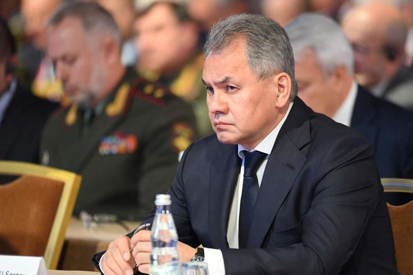 Szef rosyjskiego resortu obrony - Siergiej Szojgu /AFP