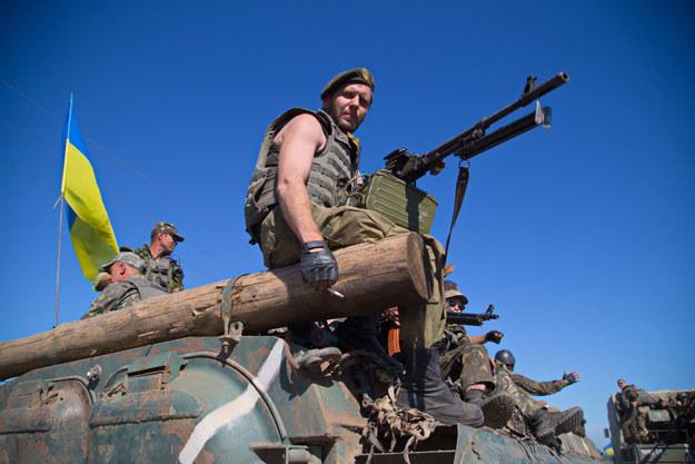 Ukraińscy żołnierze zostaną wysłani do Syrii? /AFP