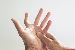 """Do it """"thumb test"""".  This will tell you if you are at risk of having an aortic aneurysm"""