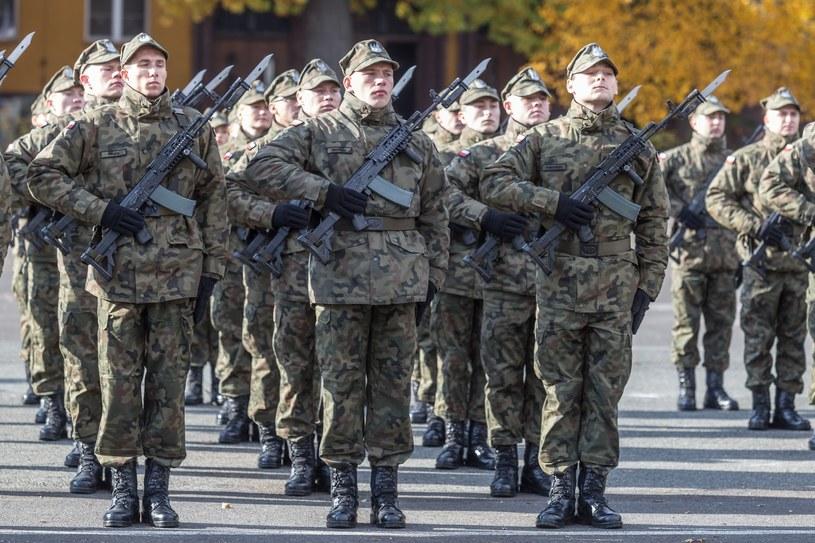 Żołnierze Wojsk Obrony Terytorialnej /Krzysztof Kaniewski /Reporter