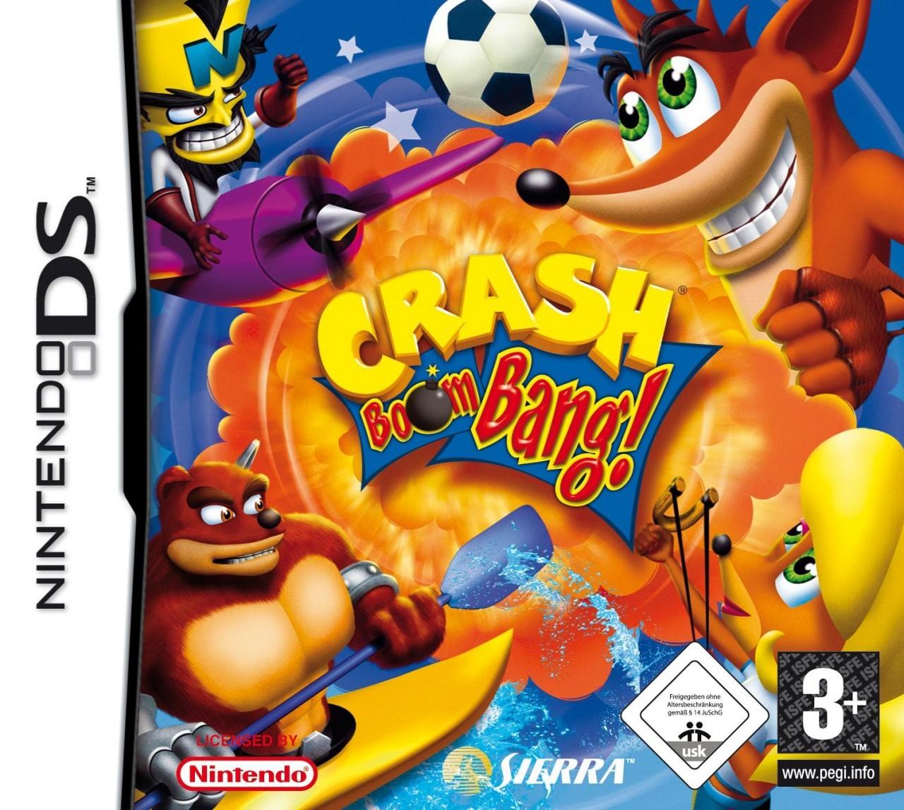 Crash Bandicoot Revient Sur DS