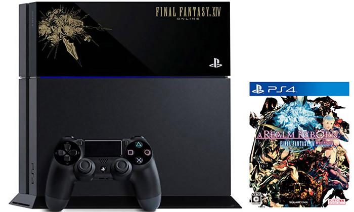 Final Fantasy 14 A Realm Reborn Une Console Collector 1 400 Exemplaires
