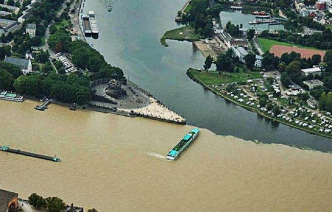 Sông Moselle và Rhine, Koblenz, Đức