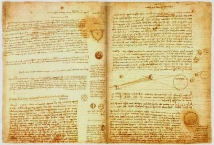Bộ sưu tập các tài liệu khoa học có tên Codex Leicester của Da Vinci