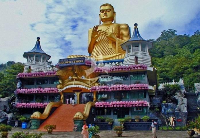 Đền vàng Dambulla