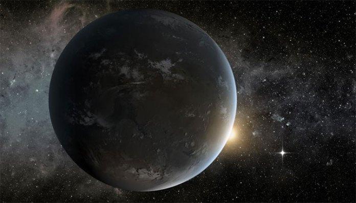 Ảnh đồ họa của NASA mô tả một ngoại hành tinh có thể mang sự sống