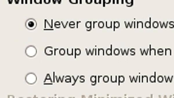 Group Windows on the Taskbar in Ubuntu/GNOME
