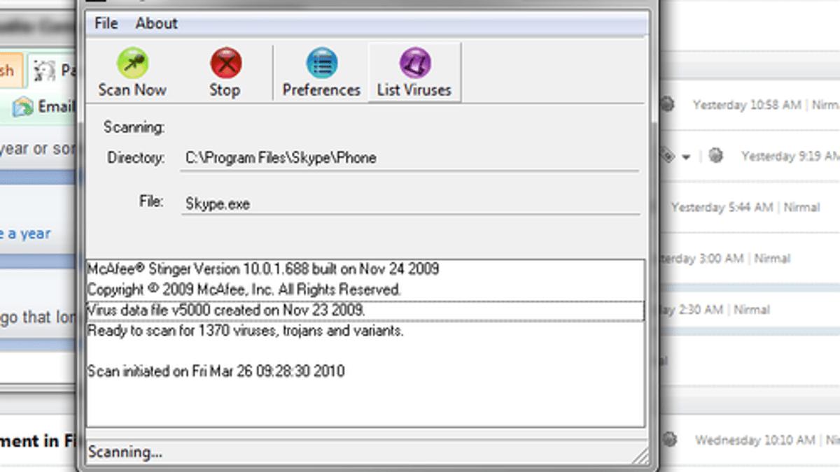 McAfee Stinger 12.2.0.155 Crack Serial + Product Key Download 2021