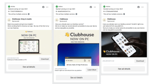 How to spot a club house download that is actually malware