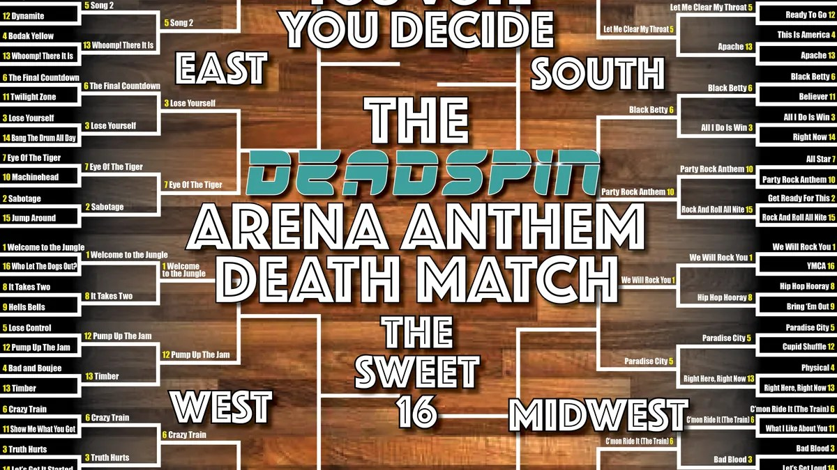 Photo of A Crazy Train of Upsets as Arena Anthem Death Match Marches into Sweet 16