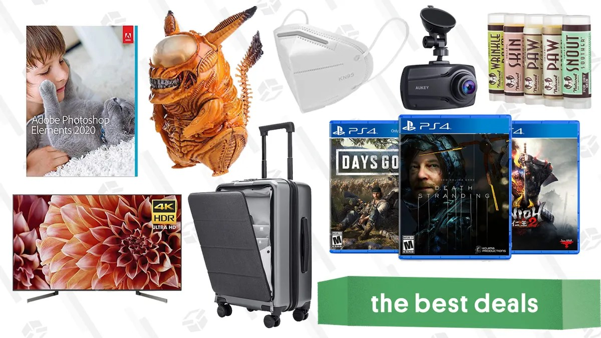 Friday S Best Deals Ps4 Exclusive Games Sale Sony X900f Tv Adobe Photoshop Elements 2020 Kelake Alien Pikachu Figure Aukey Dual Dash Cam K95 Masks And More