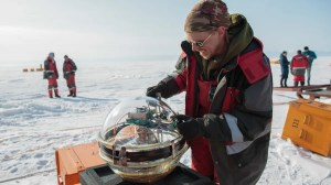 Russian Scientists Drop Telescope Into The Deepest Lake on Earth