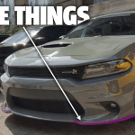 Dodge Chargers Will Get Purple Air Dam Shipping Covers Instead Of Yellow But The Designer Hopes You Take Them Off Updated