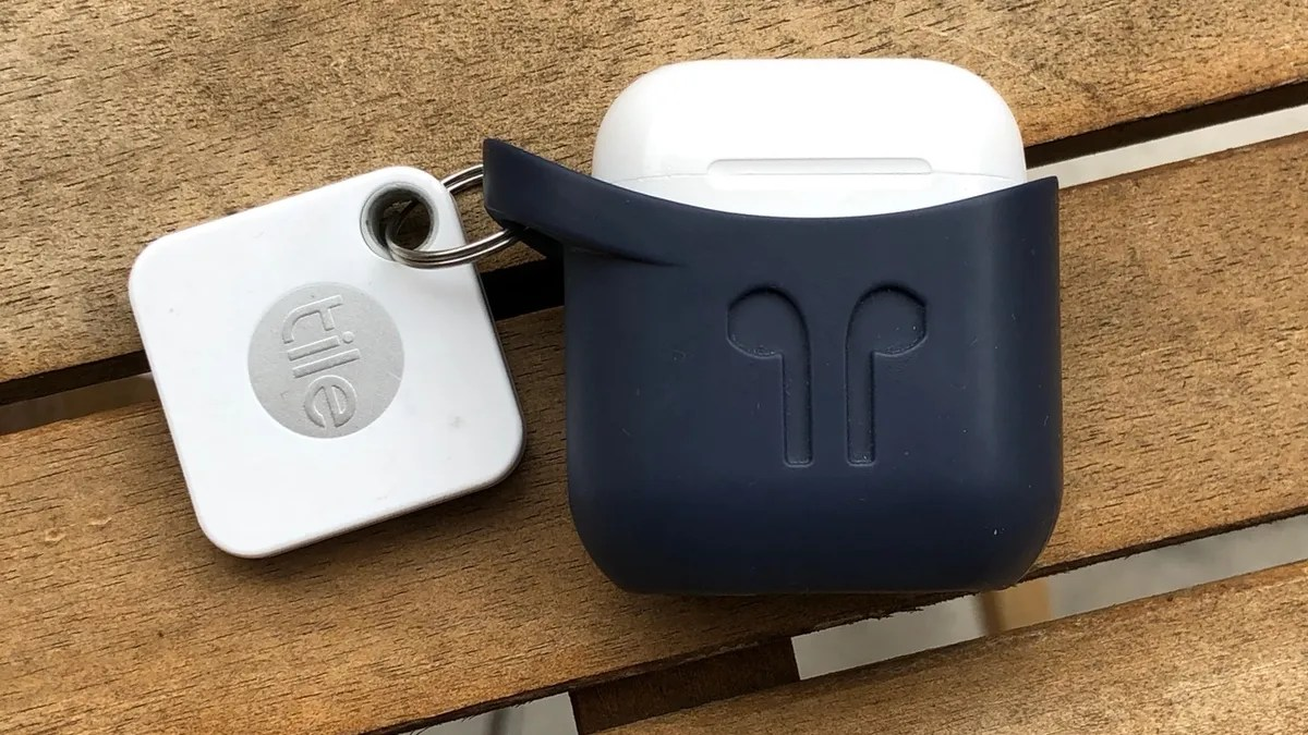 attach a tile tracker to your airpods