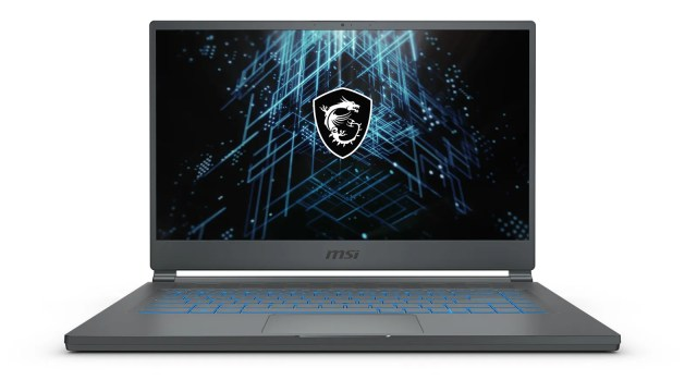 Unlike a lot of MSI's other gaming laptops, the Stealth 15M comes in both carbon gray (seen here), and a new pure white paint job (seen on the next slide).