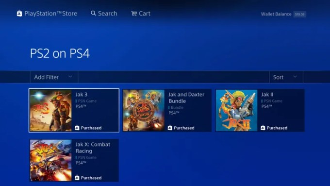 The PS4s Library Of PS2 Games Is Only Getting More