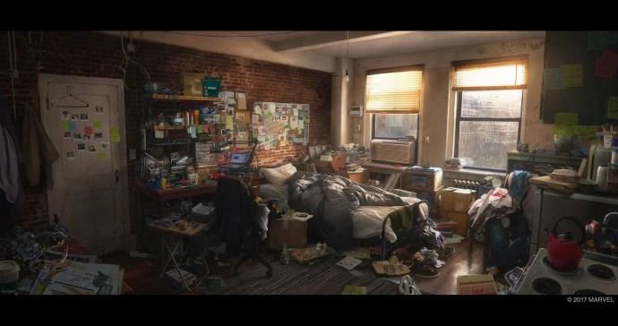 Marvel's Spider-Man PS4 concept art