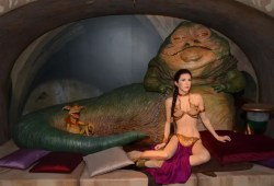 Now's your likelihood to purchase a ridiculous toy of Jabba The Hutt's sail barge