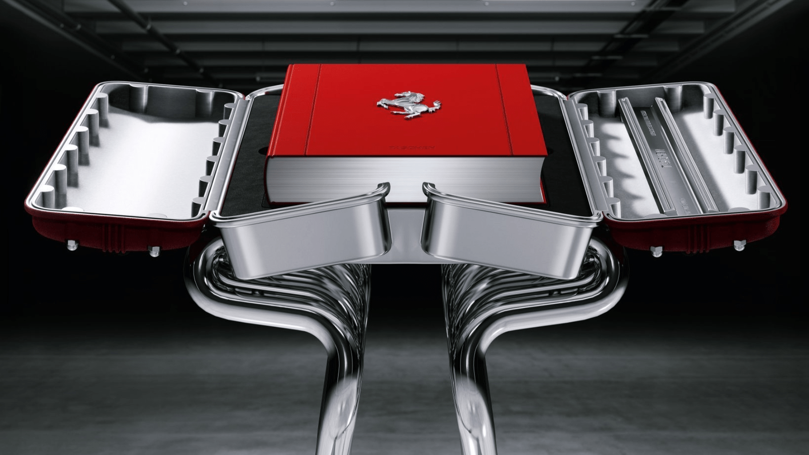 The Art Edition of Ferrari's book will cost the discernible collector a whopping £22,500