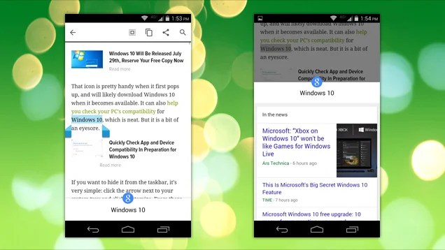 Chrome for Android Can Instantly Search Any Text You Highlight on Google