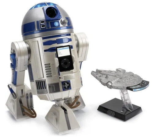 Marvel Home Decor R2D2 Home Projector Star Wars Millennium Falcon iPod
