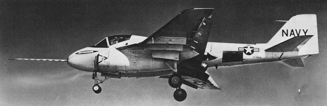 The A-6 Intruder Was Originally Designed With Thrust Vectoring