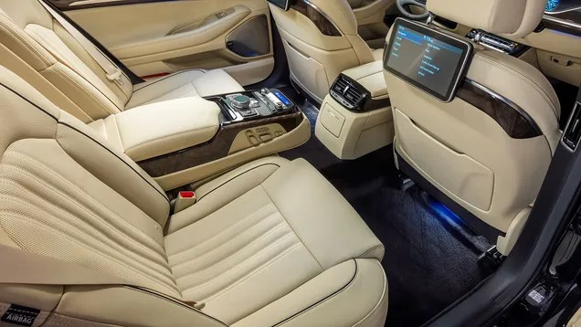 The Back Seats Of The Genesis G90 Are Thrones