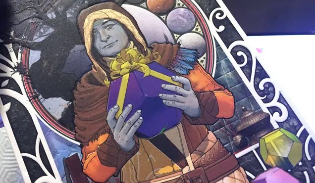 Bungie's Destiny Holiday Card Is A Jerk