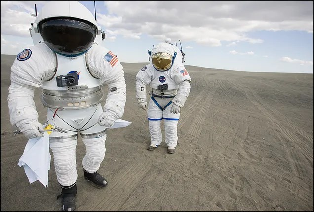 How a New Spacesuit Will Help Us Live on Mars