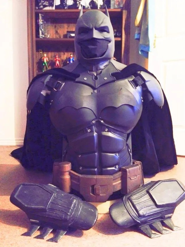 This Fantastic Batman Armour Is Entirely 3D-Printed